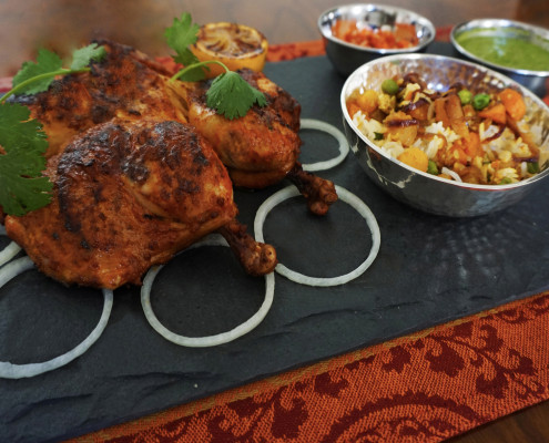 Passionate 2 Cook | Sample Menu | Poultry